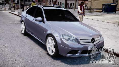 Mercedes-Benz C180 CGi Classic Special 2009 pour GTA 4 Vue arrière