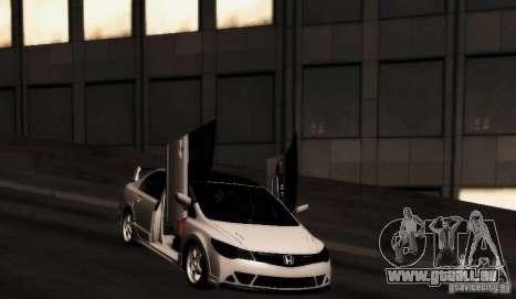 Honda Civic JDM pour GTA San Andreas vue de droite