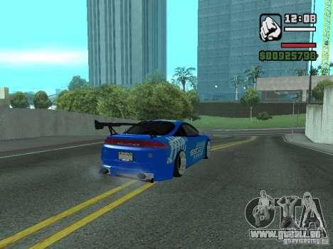 Mitsubishi Eclipse Tunning pour GTA San Andreas laissé vue