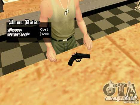 MP 412 für GTA San Andreas