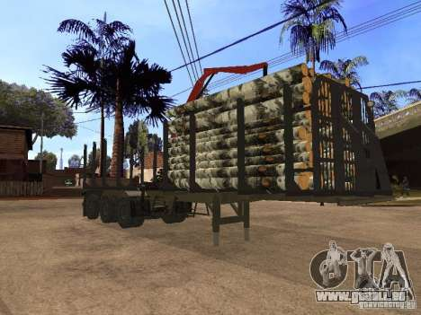 Remorque MAZ 99864 pour GTA San Andreas
