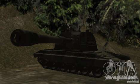 Msta-s 2s19, version standard pour GTA San Andreas