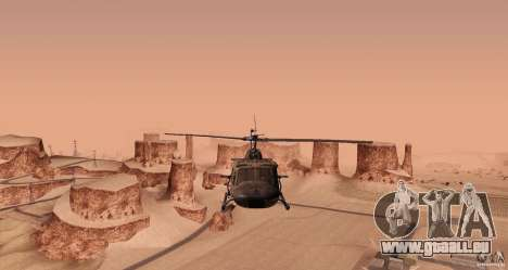 UH-1H pour GTA San Andreas