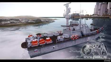 Russian PT Boat pour GTA 4 est une gauche