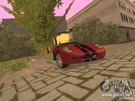 Bullet HQ pour GTA San Andreas vue intérieure