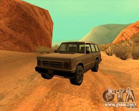 Huntley 1987 San Andreas Stories pour GTA San Andreas