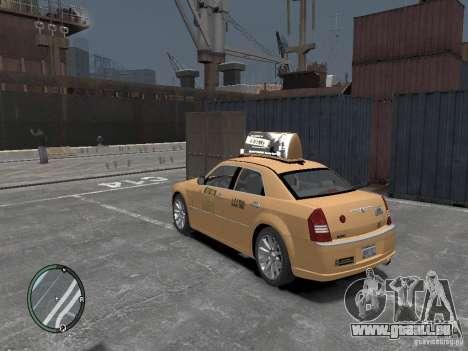 Chrysler 300c Taxi v.2.0 für GTA 4 linke Ansicht