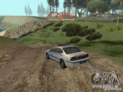 Police de GTA 4 pour GTA San Andreas vue de droite