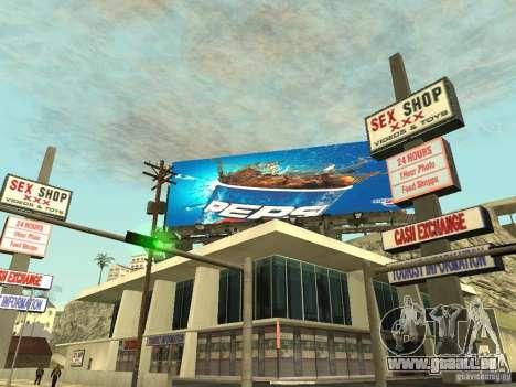 Die neue Werbung für die Mode für GTA San Andreas