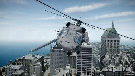 HH-60G Pavehawk für GTA 4 linke Ansicht