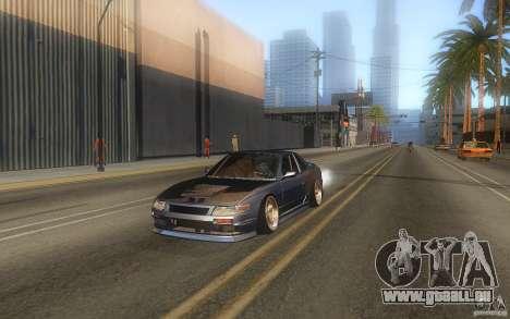 Nissan Silvia S13 Odyvia pour GTA San Andreas sur la vue arrière gauche