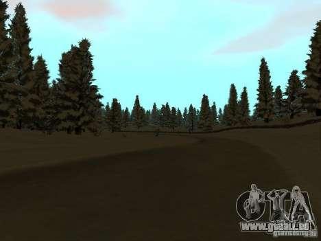 Winterwanderweg für GTA San Andreas dritten Screenshot
