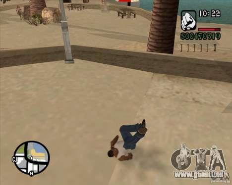 Endorphin Mod v.3 für GTA San Andreas zweiten Screenshot