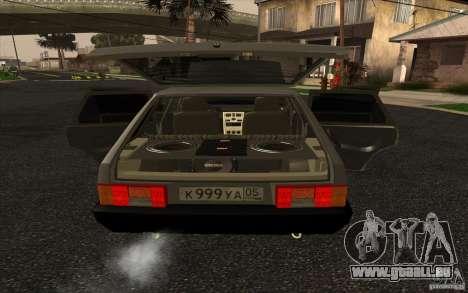 VAZ-2109 pour GTA San Andreas vue de droite