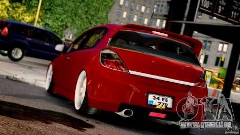 Opel Astra pour GTA 4 est une gauche