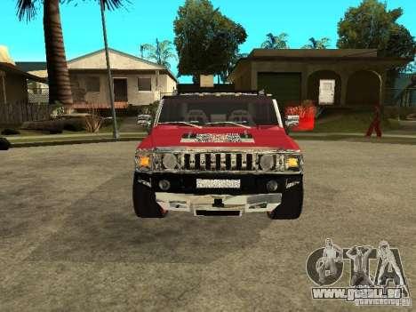Hummer H2 Diablo für GTA San Andreas linke Ansicht