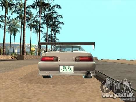 Toyota Soarer (JZZ30) für GTA San Andreas zurück linke Ansicht