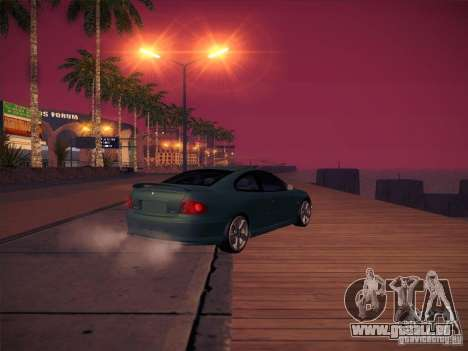 Pontiac FE GTO pour GTA San Andreas vue intérieure