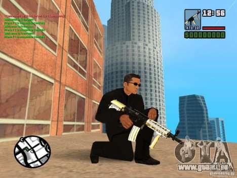 Gun Pack by MrWexler666 pour GTA San Andreas troisième écran