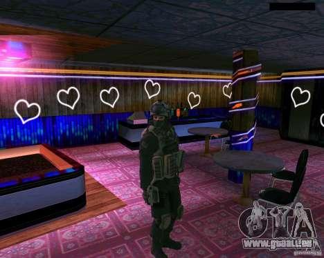 La seconde peau de CoD MW 2 pour GTA San Andreas