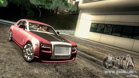 Rolls-Royce Ghost 2010 V1.0 pour GTA San Andreas vue arrière
