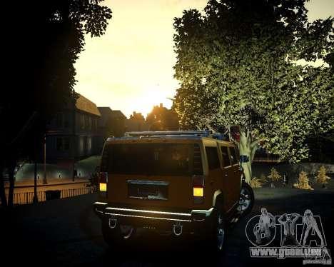 Hummer H2 2010 Limited Edition für GTA 4 Innen