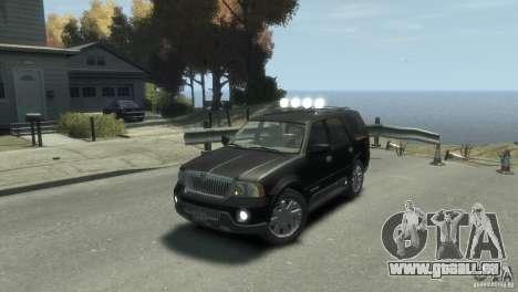 Lincoln Navigator pour GTA 4