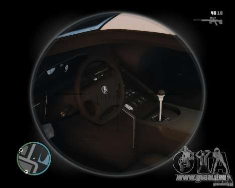 Lamborghini Diablo SV 1997 EPM v.2.3 für GTA 4 Rückansicht