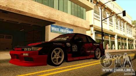 Nissan Silvia S13 MyGame Drift Team für GTA San Andreas rechten Ansicht