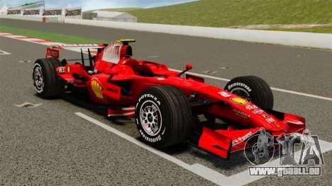 Ferrari F2008 für GTA 4