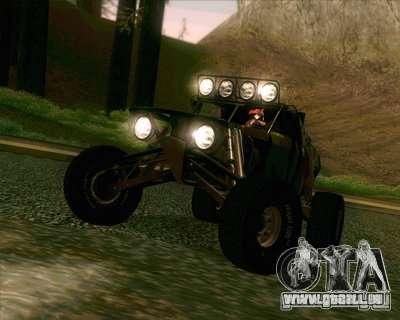 Ickler Jimco Buggy pour GTA San Andreas sur la vue arrière gauche