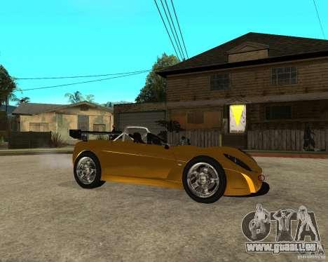 Lotus 2-Eleven für GTA San Andreas rechten Ansicht