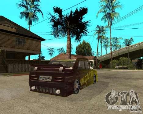 Anadol GtaTurk Drift Car pour GTA San Andreas sur la vue arrière gauche