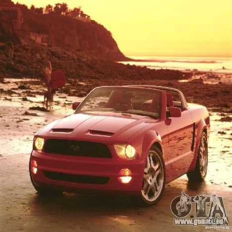 Écrans de chargement dans le style de la Ford Mu pour GTA San Andreas
