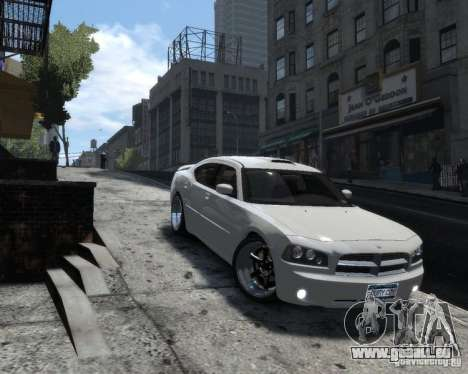 Dodge Charger RT 2006 für GTA 4 hinten links Ansicht
