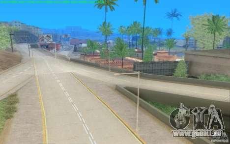 Routes en béton de Los Santos Beta pour GTA San Andreas quatrième écran