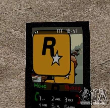 Nouveaux thèmes pour votre téléphone pour GTA 4 huitième écran