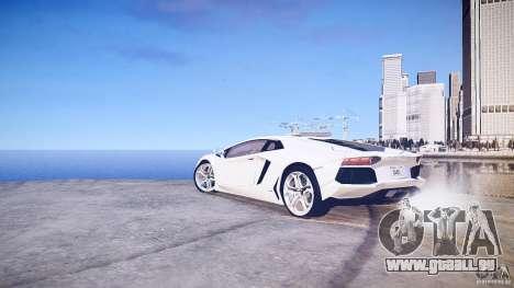 Lamborghini Aventador LP700-4 v1.0 für GTA 4 rechte Ansicht
