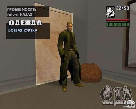 Kleidung aus einem stalker für GTA San Andreas siebten Screenshot