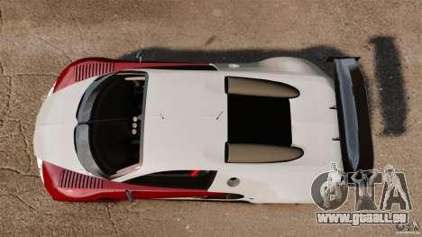 Bugatti Veyron 16.4 Body Kit Final Stock pour GTA 4 est un droit
