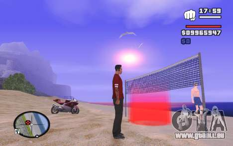 SA Volleyball pour GTA San Andreas