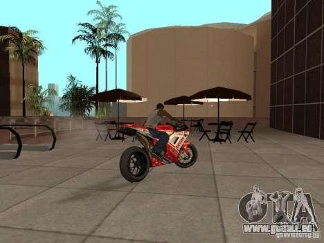 Ducati 1198R für GTA San Andreas linke Ansicht