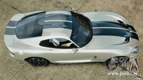 SRT Viper GTS 2013 für GTA 4 rechte Ansicht
