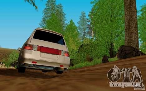 VAZ-2111 für GTA San Andreas Rückansicht