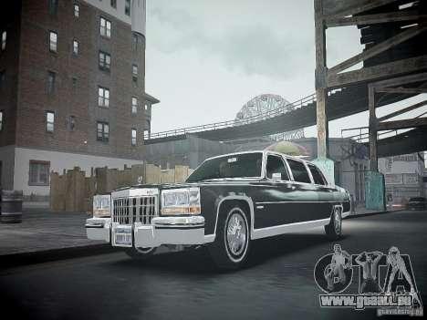 Cadillac Fleetwood 1985 für GTA 4 Innenansicht