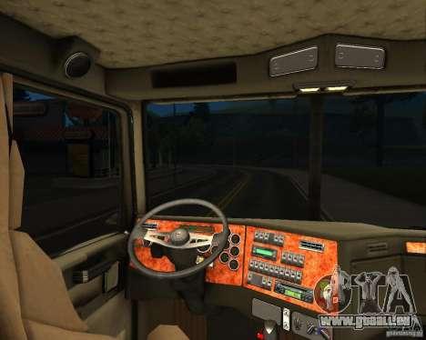 Western Star 4900 EX pour GTA San Andreas vue arrière