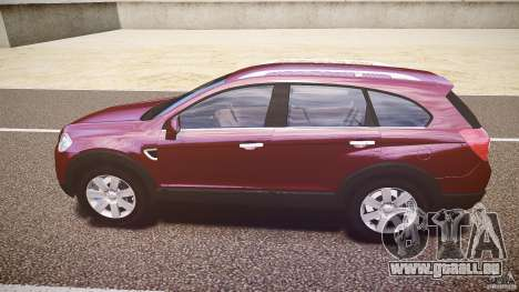 Chevrolet Captiva 2010 Final pour GTA 4 Vue arrière de la gauche
