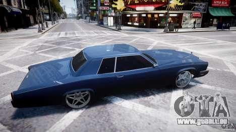 Buccaner Tuning pour GTA 4 est une vue de l'intérieur