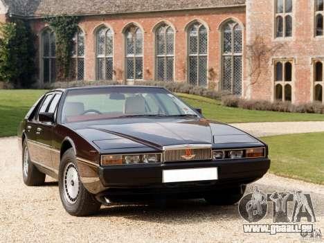 Aston Martin Lagonda (I) 5.3 (1976-1997) pour une vue GTA Vice City de la droite
