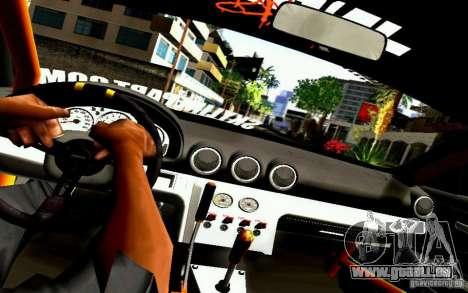 Nissan Silvia S15 Drift Works für GTA San Andreas Innenansicht